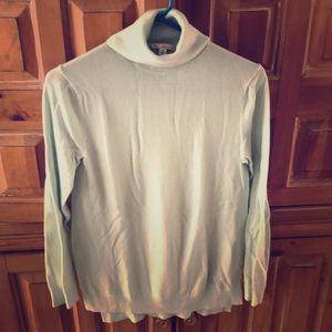Gap light blue turtleneck